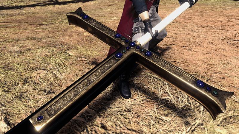 ミホークの黒刀を実装するMOD