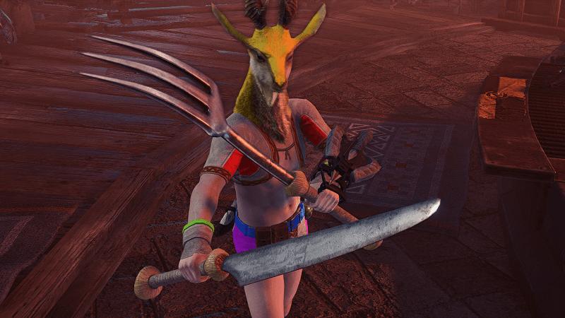 フォーク&ナイフの双剣を実装するMOD